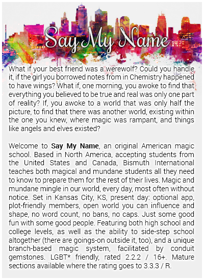 Say My Name [American Magic School] [lb] Smn_sheet